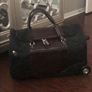 Brighton Rolling Luggage Duffle Bag